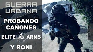 Probando cañones Elite Arms y RONI CAA | Guerra Urbana | Capsule Airsoft España