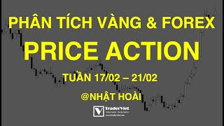 Phân Tích Vàng & Forex Theo Price Action Tuần 17/02-21/02: Có Nên Bắt Đáy EURUSD & Dầu?