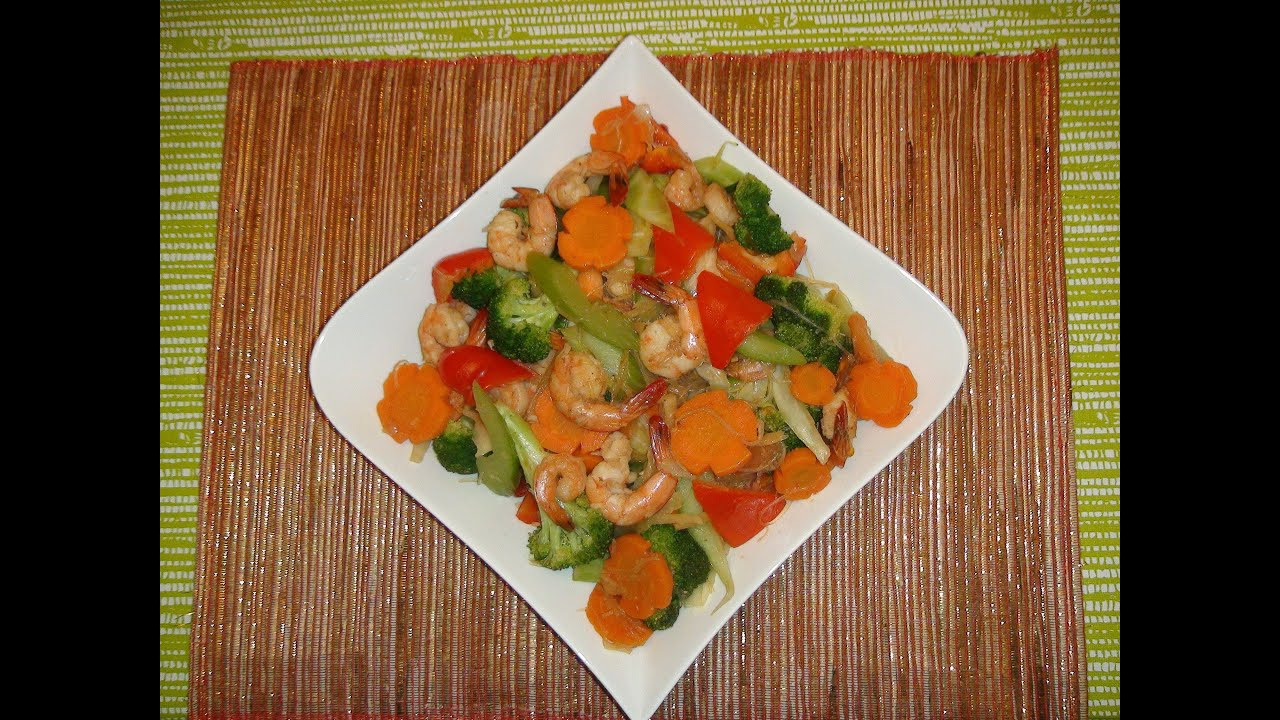 Filipino recipe how to make stir fry vegetable with shrimp youtube forumfinder Gallery