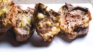 Garlic & Mustard Lamb Chops