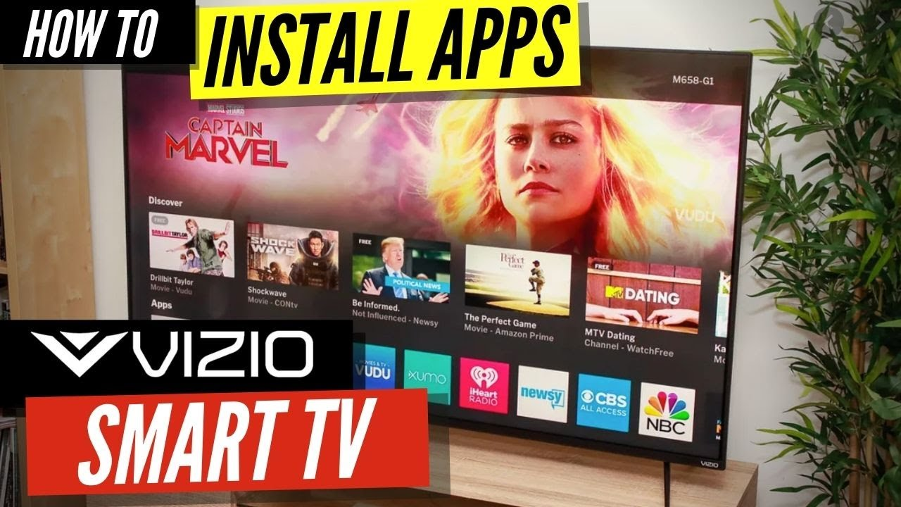 How To Install Apps On A Vizio Smart Tv Youtube
