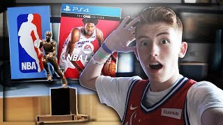 SIXERS FAN REACTS TO THE NBA AWARDS LIVE! (ROTY, MVP, NBA LIVE COVER RELEASE) 🏀