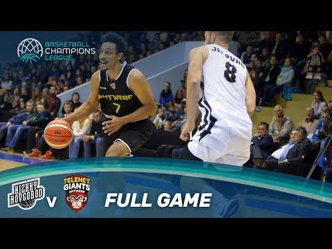 LIVE 🔴 - Nizhny Novgorod (RUS) v Telenet Giants Antwerp (BEL) - Basketball Champions League 17-18