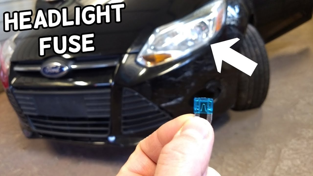 small resolution of low beam headlight fuse location replacement ford focus mk3 2012 2018