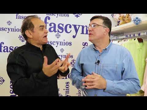 Dr. Marcelo, cardiologista e palestrante, visita a Camisaria Fascynios