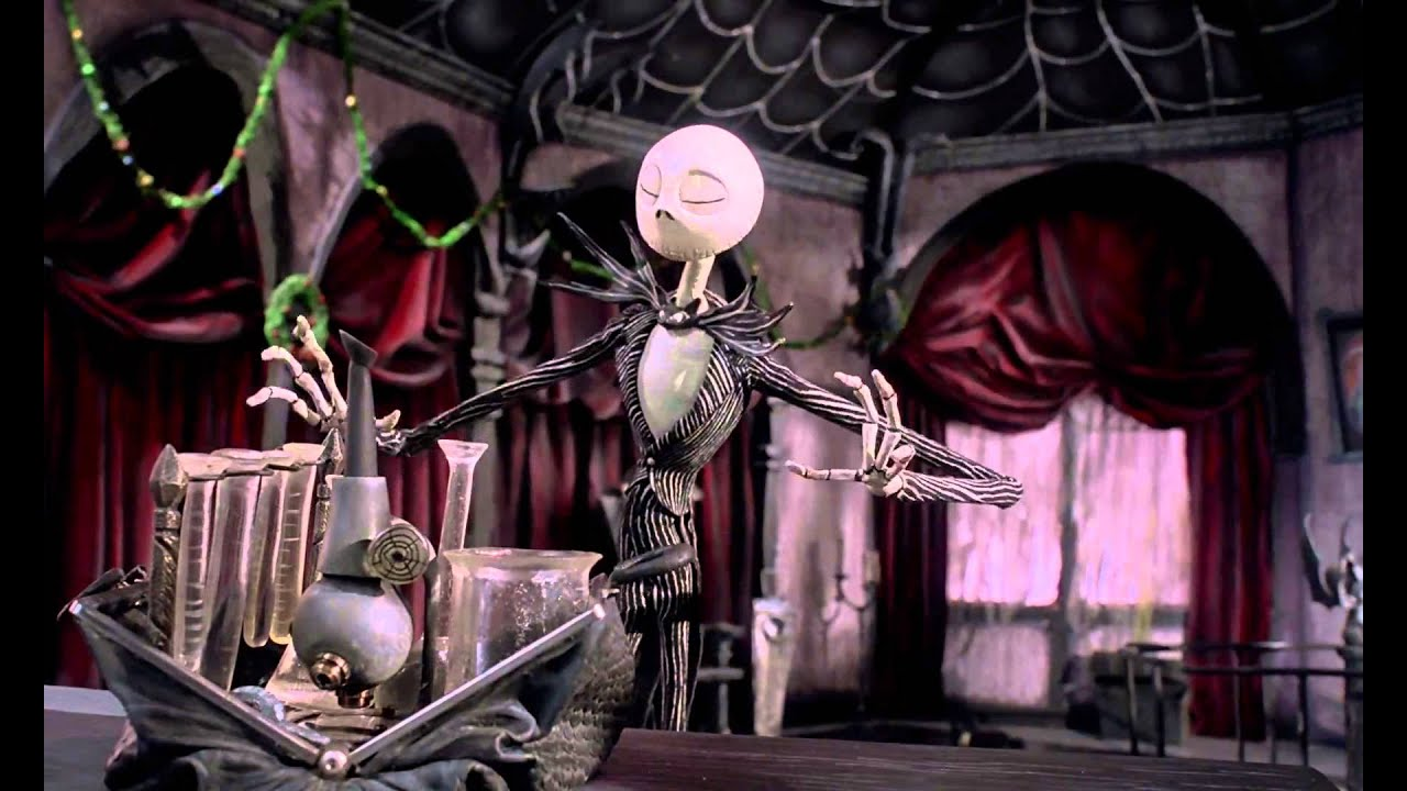 The Nightmare Before Christmas (1993) Science - YouTube