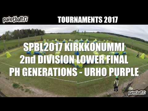 PH Generations vs Urho purple - Lower Final - SPBL2017 Kirkkonummi