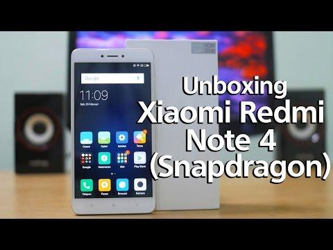 Unboxing Xiaomi Redmi Note 4 Pro Snapdragon