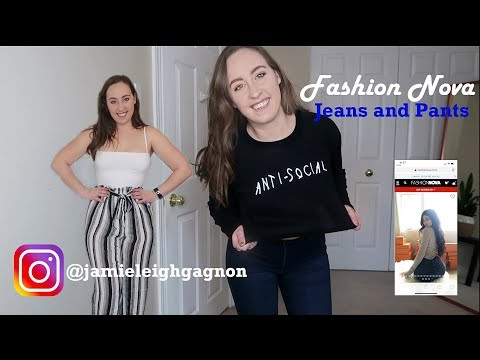 FASHION NOVA JEANS | ARE THEY WORTH THE HYPE + SHIPPING TO CANADA