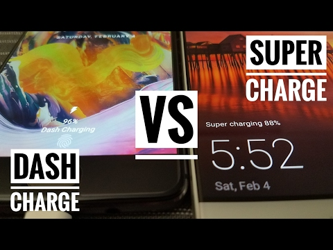 OnePlus 3T vs Huawei Mate 9 - Dash Charge vs Super Charge!