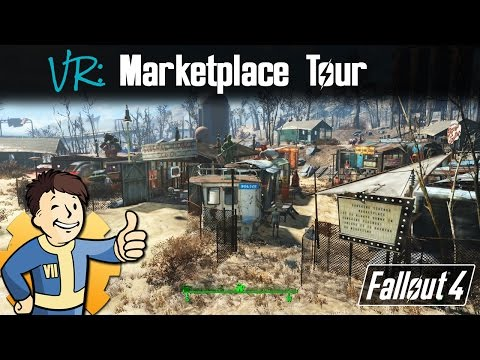 Fallout 4: Diamond City Marketplace Build Tour