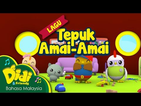 Lagu Kanak Kanak | Tepuk Amai- Amai | Didi & Friends
