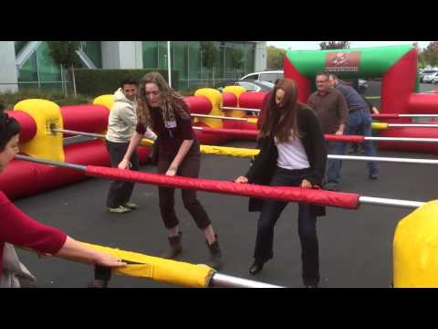 Copy Of Inflatable Human Foosball Party Game Rental