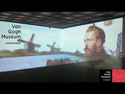 Van Gogh Museum - Amsterdam, Niederlande (Netherland) - Videoart, Kunst, Modern Art