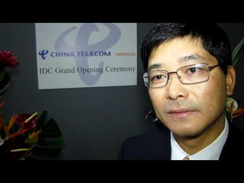 President Yi Jun (Donald) Tan China Telecom Americas on new Data Center, LA