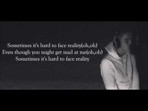 Justin Bieber - Hard 2 Face Reality Lyrics