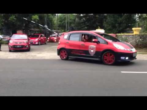 Red Car Community Touring Anyer