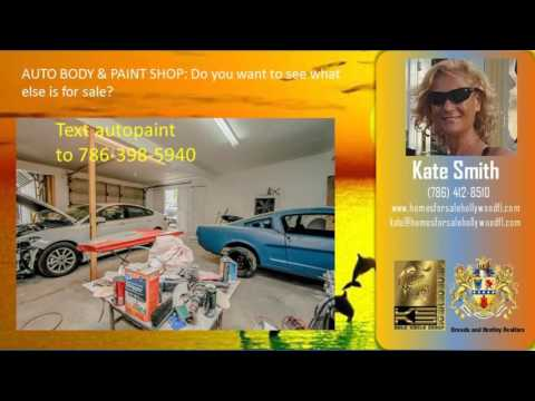AUTO-BODY And PAINT SHOP For Sale  129 NW 4TH AVE   Dania