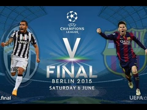 Лига чемпионов УЕФА 2014/2015. Финал. Ювентус - Барселона. ФИШ-sport