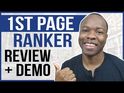 1st Page Ranker Review + Demo: Can Beginners RANK First Page Google & YouTube FAST?