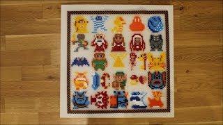 DIY: Bügelperlen Bild The Legend of Zelda / Perler Bead Picture / 45 x 45 cm / Nintendo