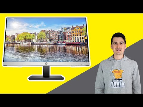 HP Computer Monitor 24 Inch 1080p 75hz // HP 24mh FHD Monitor Review