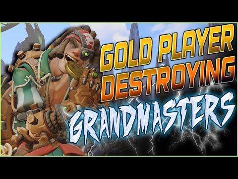 GOLD PLAYER DESTROYING GRANDMASTERS