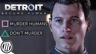 Detroit Become Human: ANDROID LIFE SIMULATOR! - PS4 Pro Live Stream