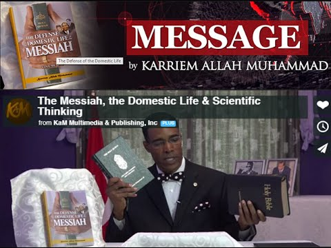 The Messiah the Domestic Life & Scientific Thinking