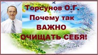Торсунов О.Г. Почему так ВАЖНО ОЧИЩАТЬ СЕБЯ!