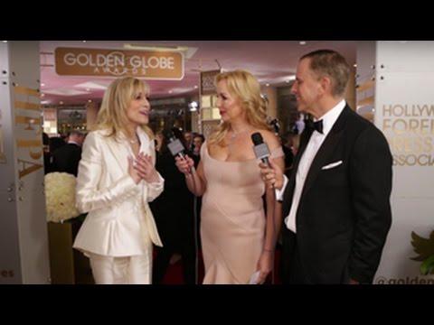 Judith Light HFPA Red Carpet Interview - Golden Globes 2016