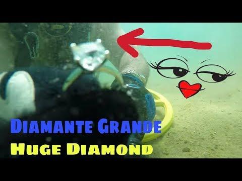 Tesoro Encontrado ! HUGE DIAMOND RING ! $$$4,000.00$$$$ 18K GOLD OMEGA WATCH : )