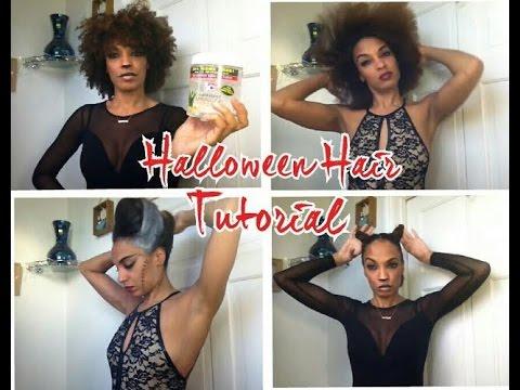 Natural hair halloween ideas