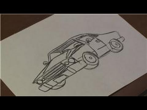 Drawing Vehicles How To Draw A Chevrolet El Camino For