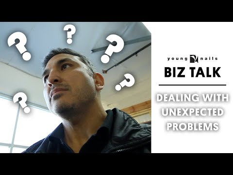 THE BIZ TALK - DEALING WITH UNEXPECTED PROBLEMS