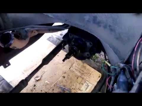 Как снять двигатель с УАЗ 452 без специнструментов и крана