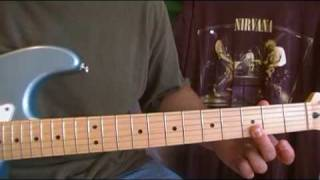Nirvana Scentless Apprentice guitar lesson how to play part 1