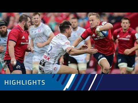 Munster Rugby v Gloucester Rugby (P2) - Highlights 20.10.2018