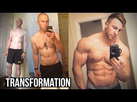 3 Year Body Transformation   After Ranger School...
