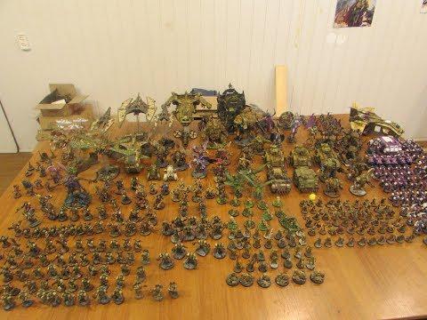 Смотр Армии Хаоса Warhammer (14500p)