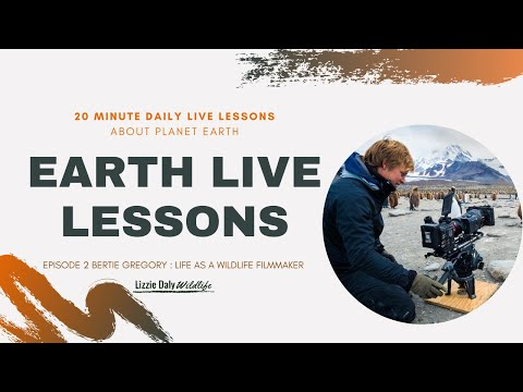 Earth LIVE Lesson With Host & Wildlife Filmmaker Bertie Gregory