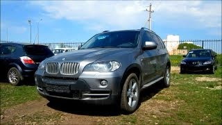2008 BMW X5. Start Up, Engine, and In Depth Tour.