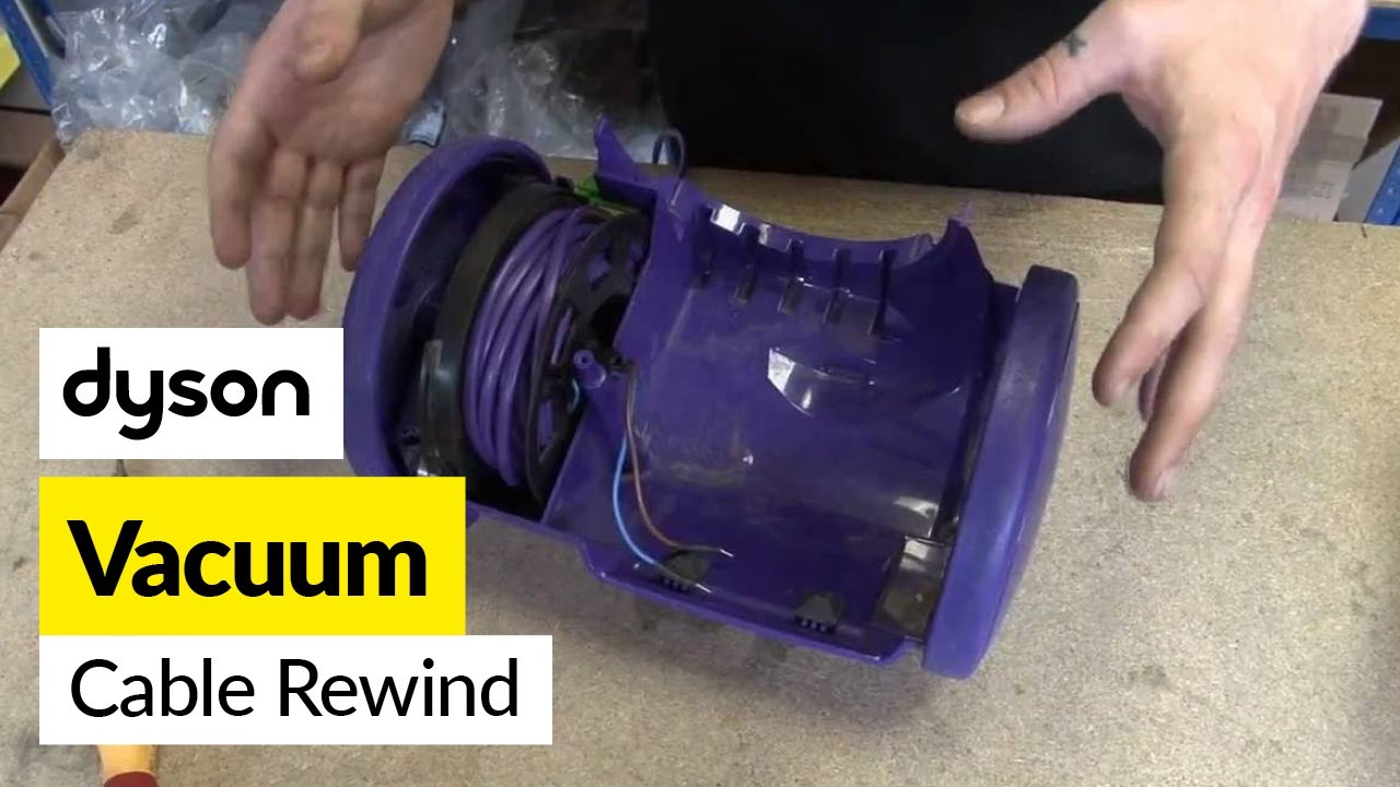 How To Replace The Dyson Cable Rewind On A Dyson Dc05