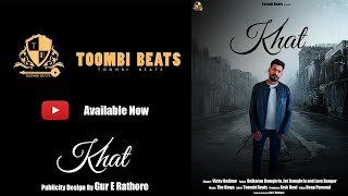 Khat (Official Video) Vicky Badhan   The Kings   New Punjabi Song 2020   Toombi Beats