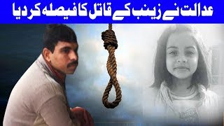 Court Gave A Final Decision For Zainab Murderer | Dunya News