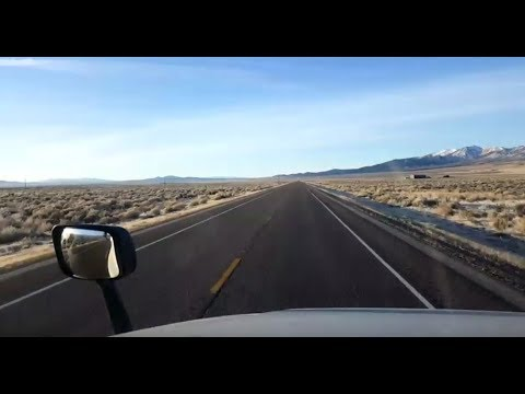 BigRigTravels LIVE! Wells, Nevada and south on US 93-Jan. 14, 2018
