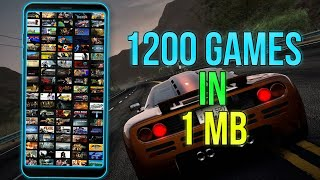 1200 Games In 1 MB App [Android Only]