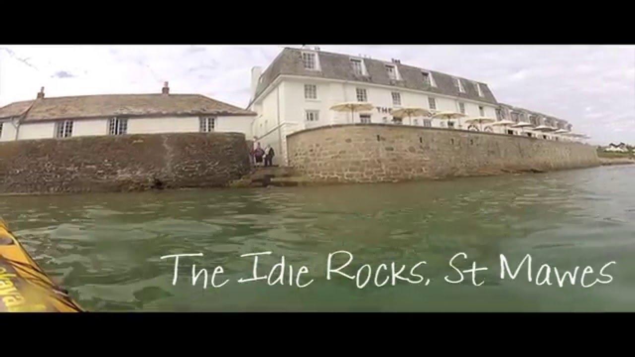 8205 cornwall - Cornwall Sea Kayaking 2015 Fistral St Mawes St Ives Porthmeor Porthcurno