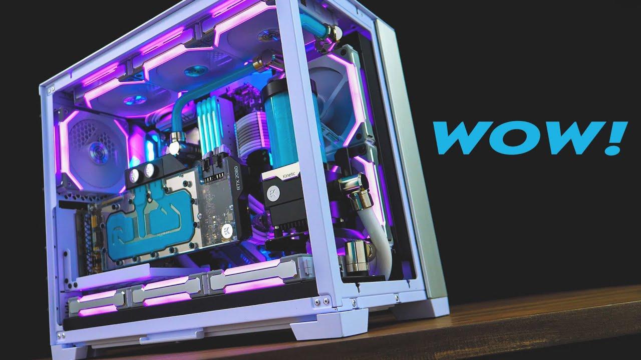 THESE COLOURS!!! O11 MINI, ATX Build