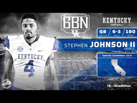 Signing Day 2016 - Stephen Johnson II
